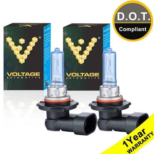 Voltage Automotive 9005 HB3 Polarize White Headlight Bulb (Pair)