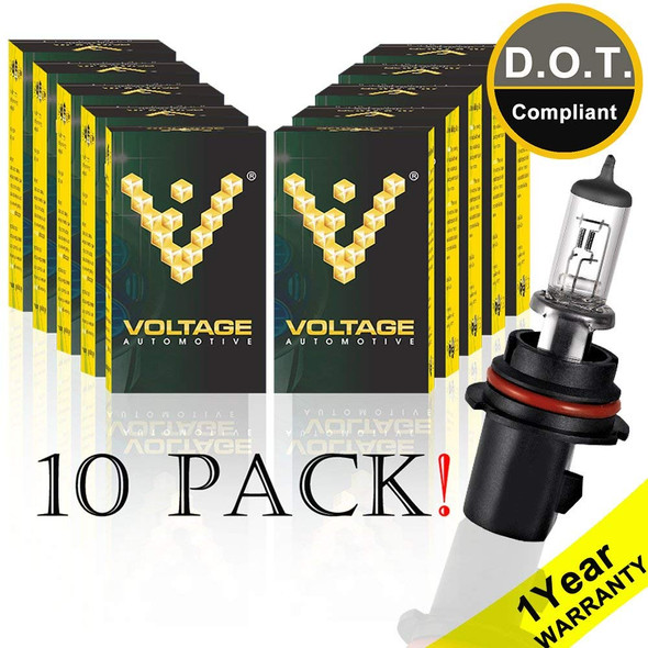 Voltage Automotive 9007 HB5 Standard Headlight Bulb (10 Pack Wholesale)