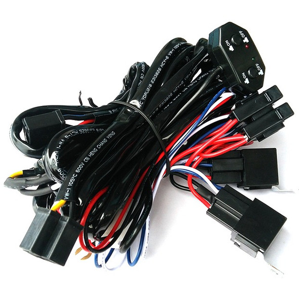 Wiring Harness Dual Beam 2 Leads 11.5 Ft 12V