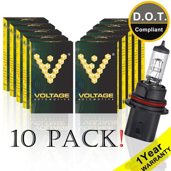 Voltage Automotive 9004 HB1 Standard Headlight Bulb (10 Pack)