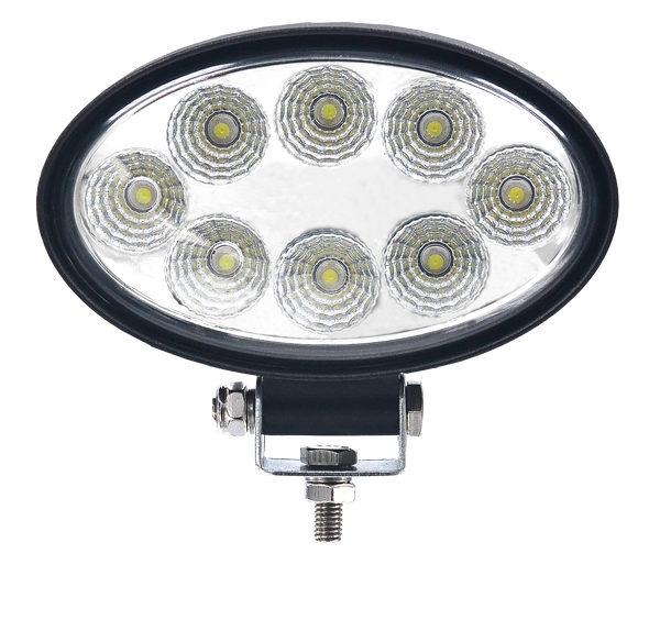 Voltage Automotive 24W Oval LED Flood Work Light