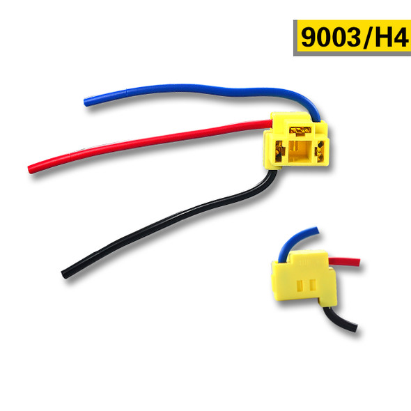 Socket Connector For 9003 HB2 H4 Headlight Fog Light Bulb