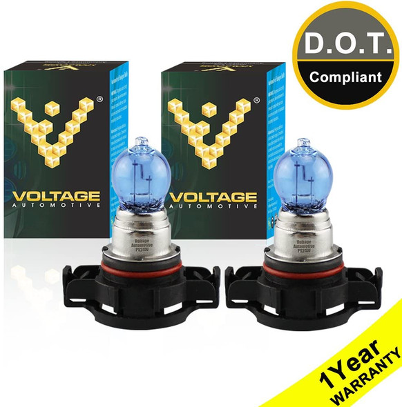 Voltage Automotive PS24W 5202 4000K White Headlight Fog Light Bulb