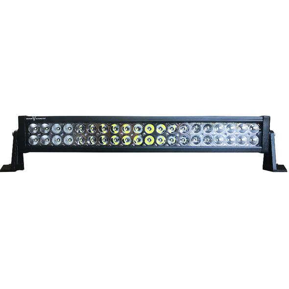 "Voltage Automotive LED Light Bar 22"" Inch 120W 6000K Double Row"