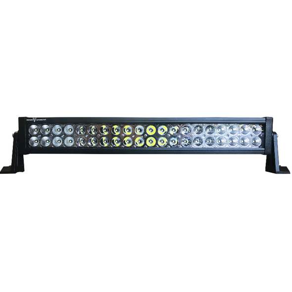 "Voltage Automotive LED Light Bar 22"" Inch 120W 6000K Double Row"