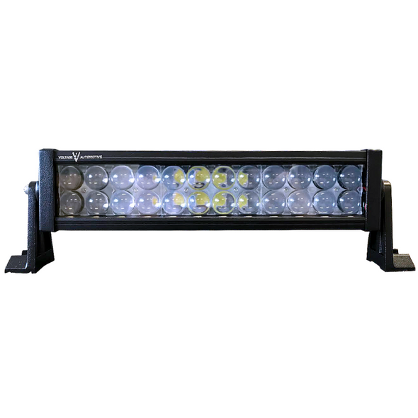 "Voltage Automotive LED Light Bar 14"" Inch 72W 6000K Double Row"