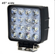 "Voltage Automotive 4"" Inch Square 48W LED Flood Work Light KLL01 (4 Pack)"