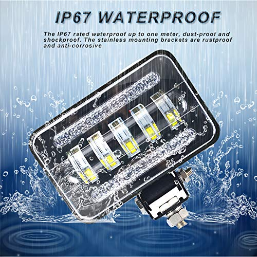 * IP67 Waterproof: Immersion up to 3.28 ft