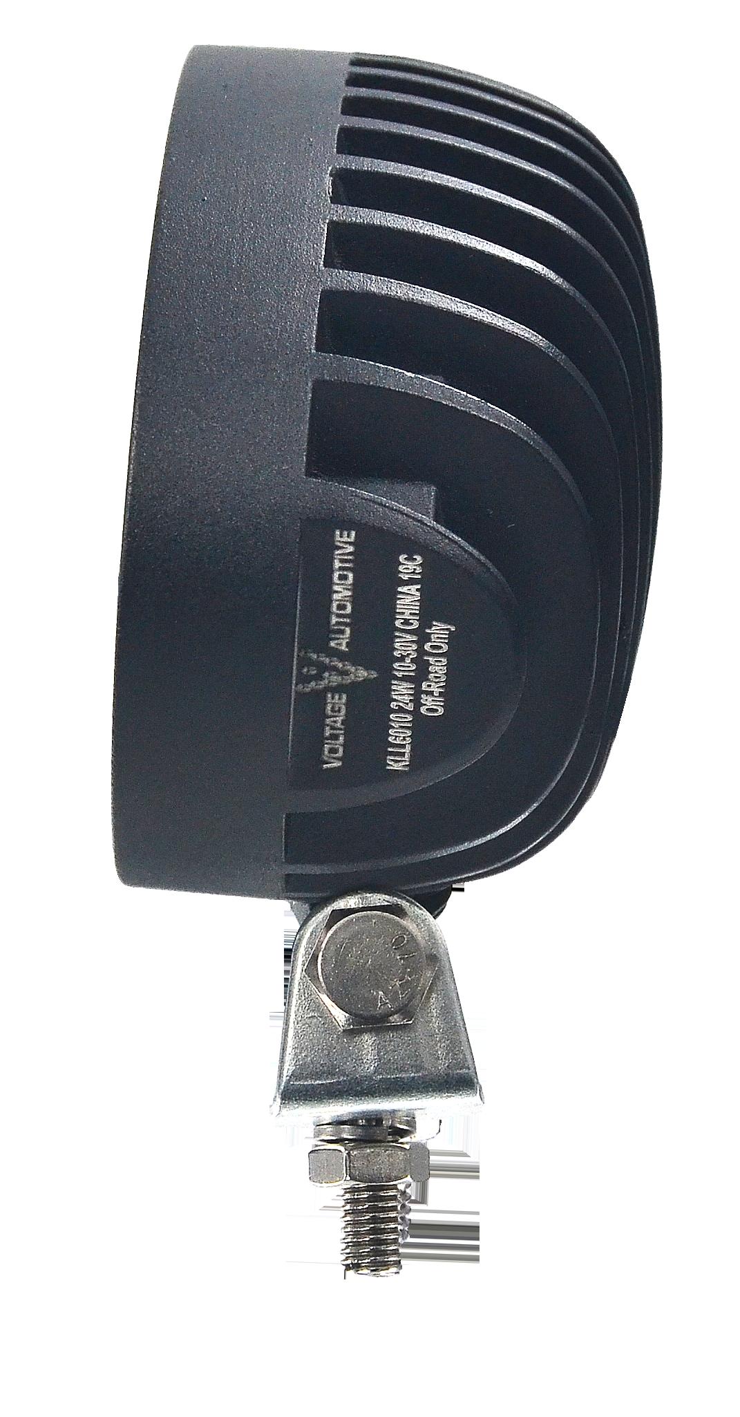04KLL6010 Voltage Automotive 24W Oval LED Work Light