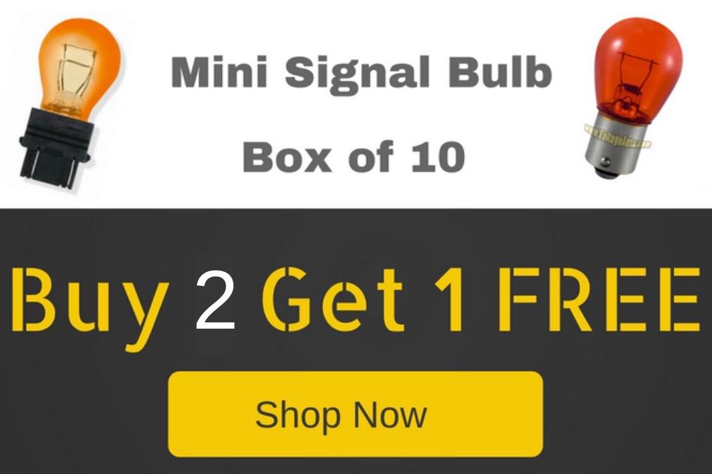 Miniature Bulb Buy 2 Get 1 free