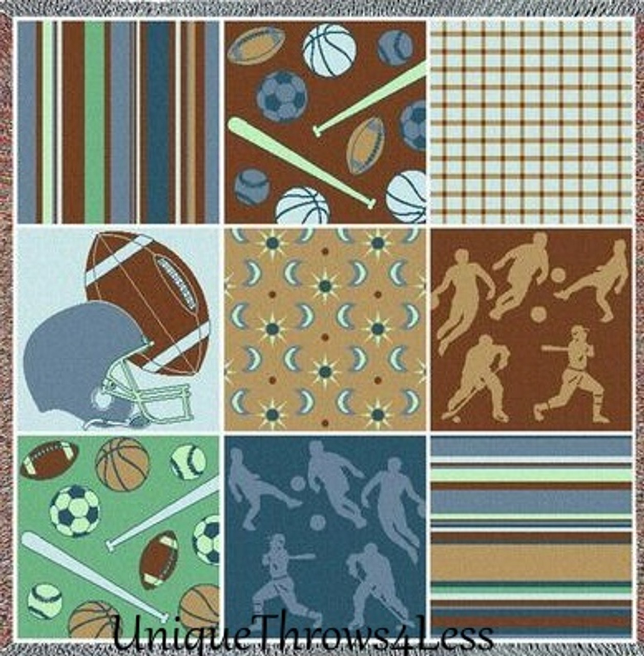 Sports Throw Blankets