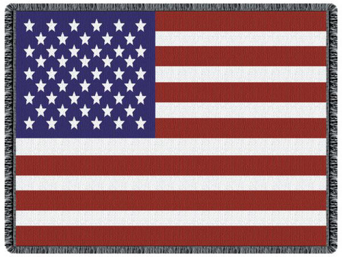 United States of America flag, tapestry throw blanket