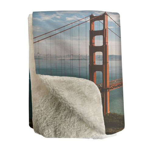 Sherpa Fleece Photo throw blanket