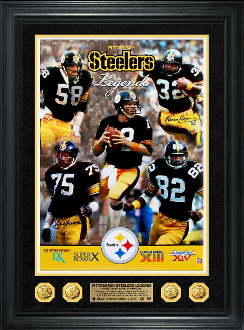 Steelers Collage Photo Mint-Free shipping