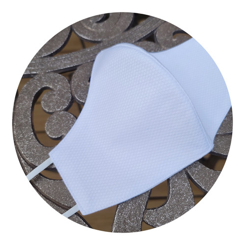 Adult Fitted Cotton Pique Face Masks