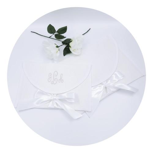 Premium Waterford Linen Envelope Bag-Large