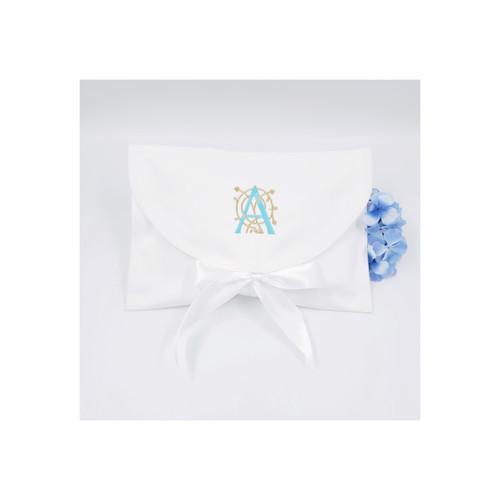 Large cotton pique envelope style gift bag