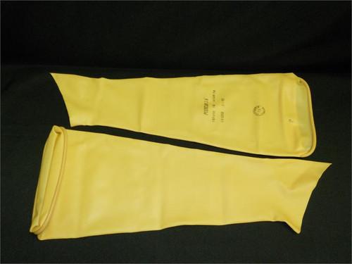 Large Latex Sleeves Pair