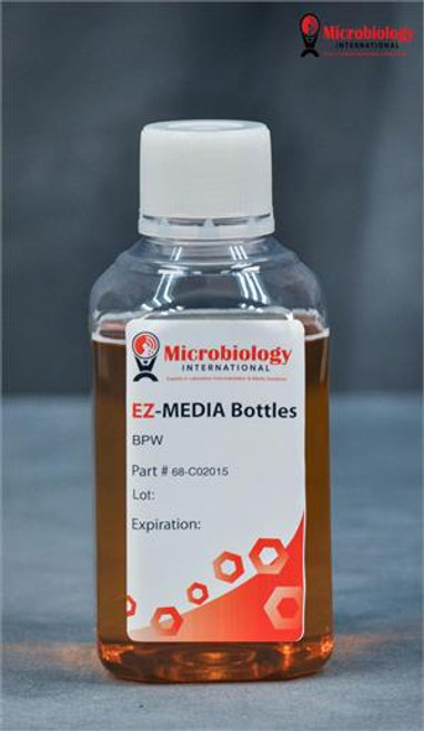 EZ-Media Buffered Peptone Water, Bottles 500mL case of 12