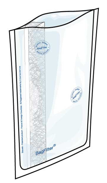 Lab Blender Bags Box of 100, 3500 mL Full-page filter