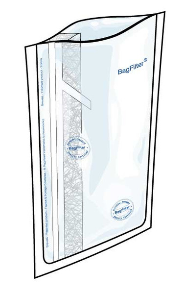 Lab Blender Bags Box of 500, 100 mL Full-page filter