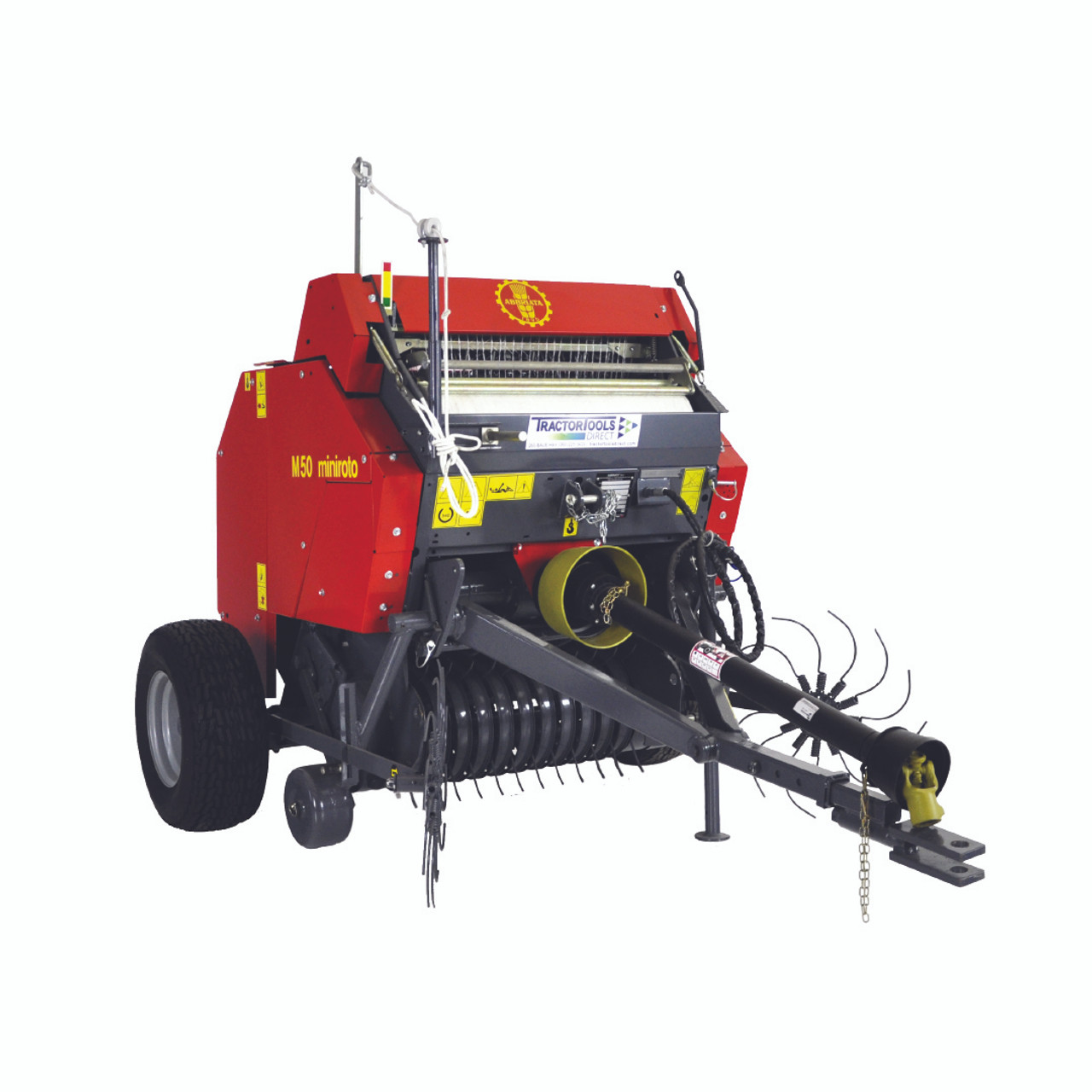 TX48 Mini Round Baler with Net Wrap