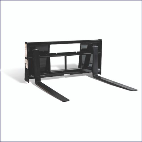 "TX36 Subcompact Pallet Forks, 36"" long, 1250lb, Universal Mount"
