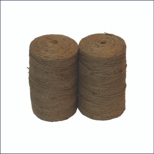 Hemp Baling Twine for Round Balers (2 rolls, 4600')
