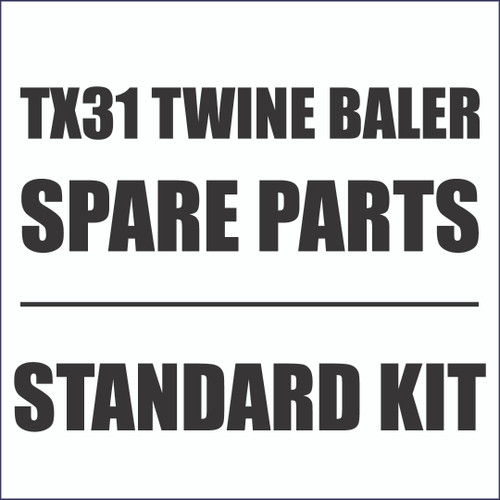 Standard Spare Parts Kit for TX31 Twine Wrap Balers