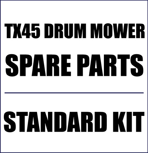 Standard Spare Parts Kit for TX45 Drum Mowers