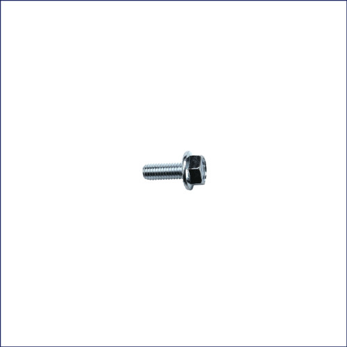 M6 x 16mm Flanged Hex Screw