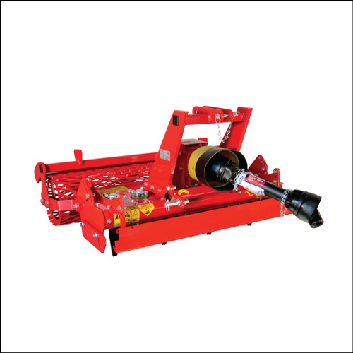 Ibex TS52 Power Harrow with Mesh Roller & Leveling Blade