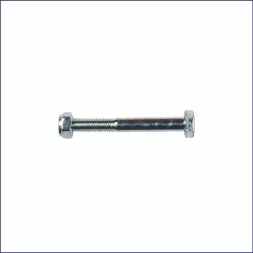M60 Square Baler M6 Feeder Fork Shear Bolt and Lock Nut Combo, Pack of 12