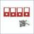 Caroni Mulching Kit for 6' Side Discharge Mower