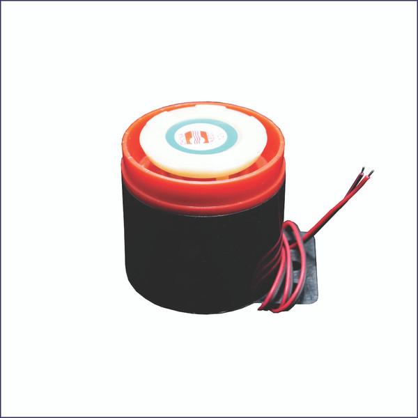 Bale Chamber Full Horn (Black & Red Case)