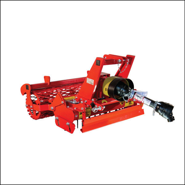 Ibex TX40 Power Harrow with Mesh Roller & Leveling Blade