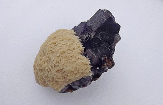 Barite And Fluorite On Sphalerite Specimen Elmwood Mine Tn. Rocks Gems Minerals Metaphysical