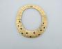 Vintage LES BERNARD Shimmering Haute Couture Cleopatra Collar Necklace Egyptian Revival Glass Gemstones