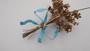 Huge Vintage Signed Sandor 1940's Enamel Flower Spray Trembler Brooch  Bouquet Spring Summer Jewelry
