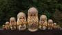 Rare Vintage Sergiev Posad 10 Piece Russian Matryoshka Doll Artist Signed 1993 Trinity St Sergiy lavra