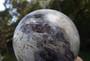 72mm Ocean Jasper Sphere With Druzy Smoky & Phantom Crystals Pearl Orbs Crystal Caves Old Costume Jewelry