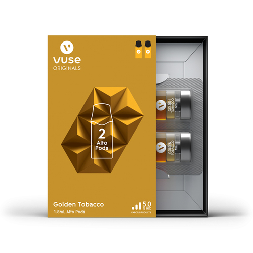 VUSE ALTO FLAVOR PACK 5% 2 PACK -BOX OF 5