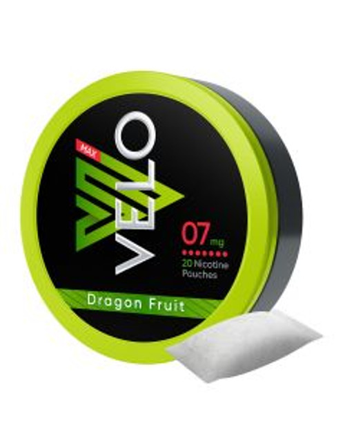 Velo Max Pouch Dragon Fruit 7MG 5 CANS