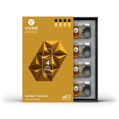 VUSE ALTO FLAVOR PACK 4 pack -BOX OF 5