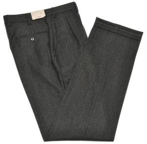 Brioni Pants 'Moena' Wool Size 30 Gray