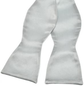 Brioni Bow Tie Silk Blue-Gray