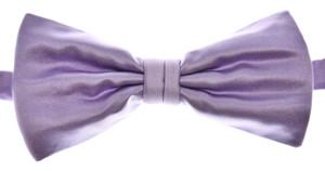 Brioni Bow Tie Silk Purple