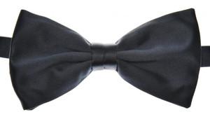 Brioni Bow Tie Silk Navy-Dark Blue