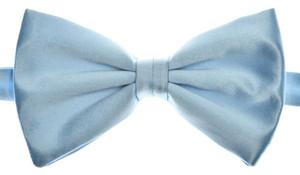 Brioni Bow Tie Silk Blue