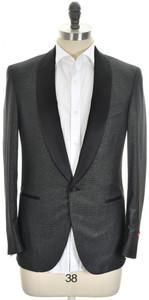 Isaia Tuxedo Formal Sport Coat Jacket 'Sanita' Size 40 Black